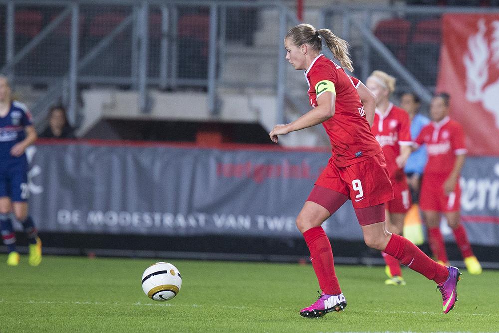 Samenvatting historische wedstrijd: FC Twente vrouwen - Bayern Munchen