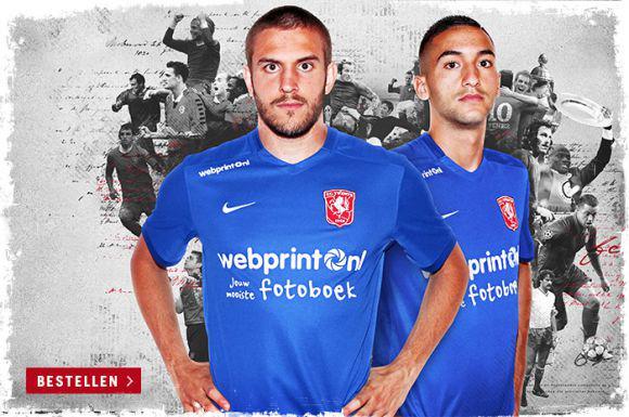 FC Twente presenteert uitshirt (FOTO)