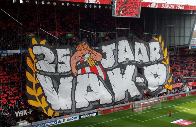 FC Twente fans starten petitie: Supporters tekenen in rap tempo
