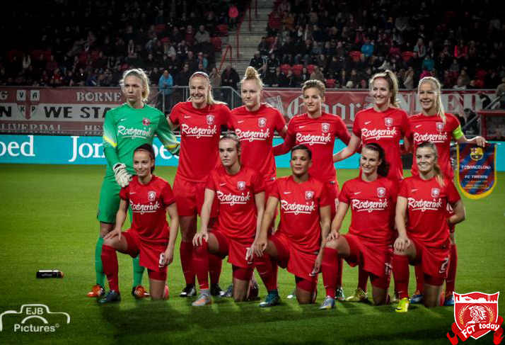 Samenvatting FC Twente vrouwen - FC Barcelona