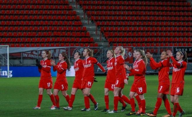 FC Twente vrouwen winnen van PSV