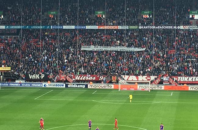Feyenoord directeur durft zich niet te vertonen bij Twente - Feyenoord