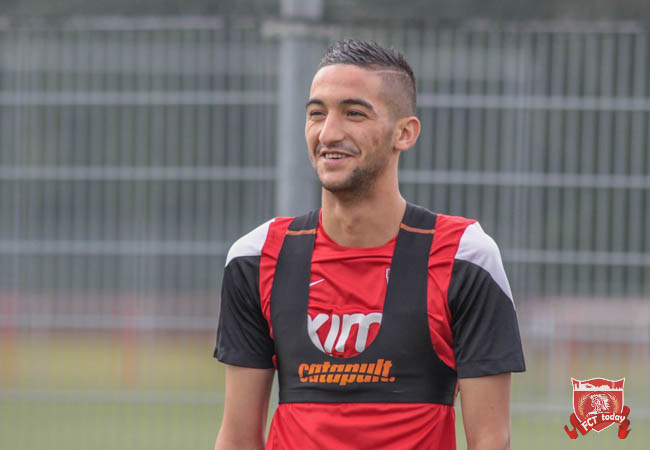 """Ziyech hoopt op mooi bedrag: """"Ik heb veel aan FC Twente te danken"""""""