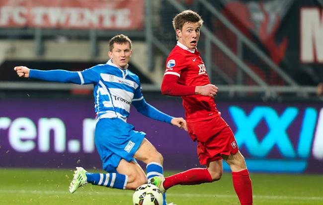 """Spelersrollen nieuw FC Twente onduidelijk: """"Het is elke week leuk"""""""