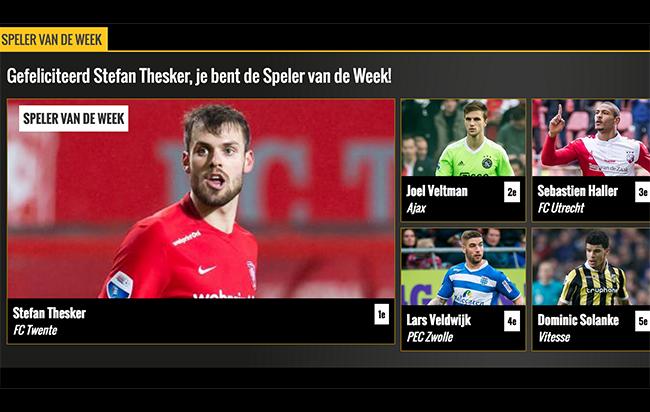 Stefan Thesker speler van de week Voetbal Inside