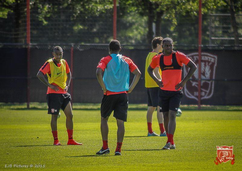 FC Twente met de volgende 18 spelers op trainingskamp