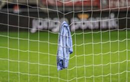 """Willem II keeper Lamprou had een rustige middag: """"Heb tweede helft niets gedaan"""""""