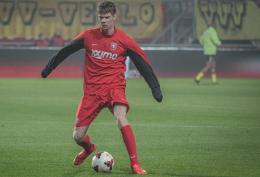 """Nieuwe aanvalsleider in de wolken: """"De supporters staan echt achter de ploeg"""""""
