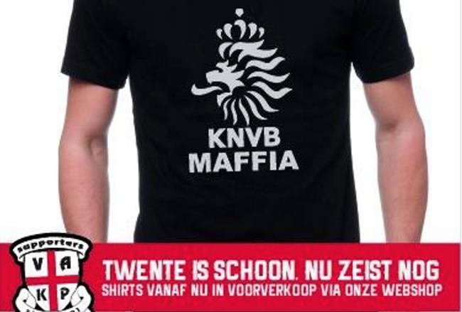 VAK-P maakt statement met verkoop t-shirt